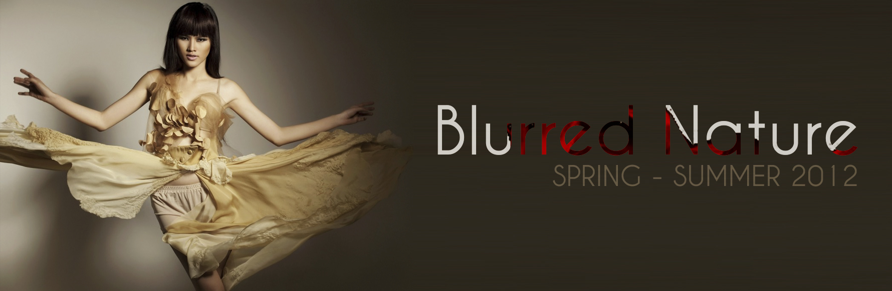 SPRING – SUMMER 2012: BLURRED NATURE